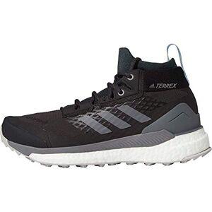 adidas Women's Terrex Free Hiker GTX W Trail Running Shoe, Carbon Grefou Globlu, 9 UK