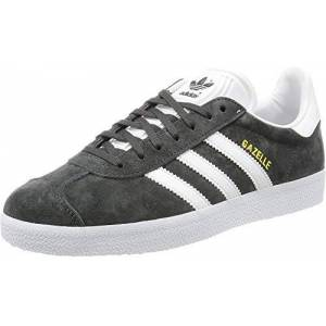 adidas Men's Gazelle Multisport Outdoor Shoes, Grey Solid Grey White Gold Metallic, 8 UK