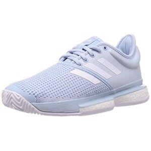 adidas Solecourt W Primeblue, Women's Tennis Shoes, Easy Blue/Ftwr White/Easy Blue, 5 UK (38 EU)