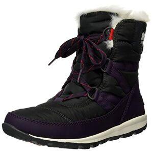Sorel Women's Whitney Short LACE Snow Boots, Purple, (Purple (Dark Plum 506)) , 3 UK(36 EU)