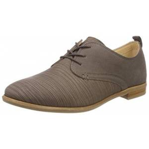 Clarks Women's Alice Mae Brogues, Grey (Taupe Combi), 7 UK