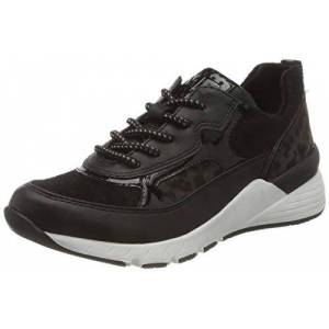 MARCO TOZZI Women's 2-2-23734-25 Sneaker, Black Comb, 4 UK