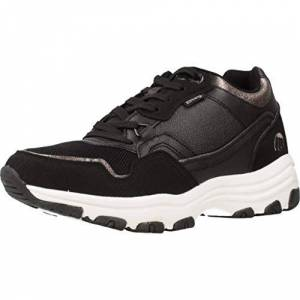 MTNG Attitude Women's 69905 Low-Top Sneakers, Black (Pila Negro/Plomo C48213), 6.5 UK