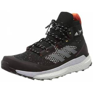 adidas Men's Terrex Free Hiker Parley Walking Shoe, Cblack Grethr Bluspi, 10.5 UK