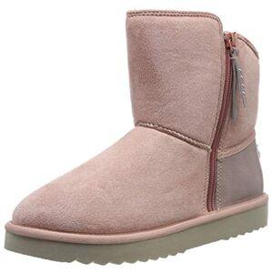 ESPRIT Women's Uma Zip Bootie Ankle Boots, Pink (Blush 665), 6.5 UK