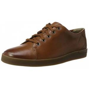 Clarks Men's Stanway Lace Brogues, Brown Tan Leather, 8 UK