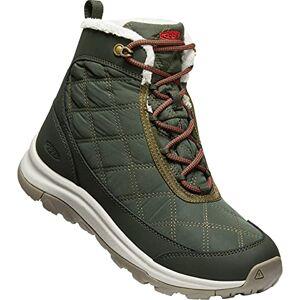 KEEN Women's Terradora II Wintry Boot WP Snow, Rosin/Orange, 3 UK