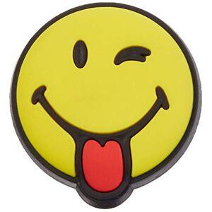 Crocs Jibbitz Smiley Shoe Charm Personalize with Jibbitz for Crocs Smiley Brand Silly Smiley One-Size