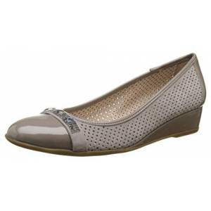 Stonefly Maggie Ii 7, Women's Ballet Flats, Grey (Taupe 423), 4.5 UK (37.5 EU)