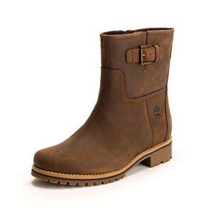 Timberland Women's Main Hill Biker Boots, Brown (Cathay Spice Saddleback 943), 4.5 UK 39 EU