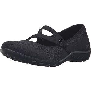 Skechers Breathe Easy - Lucky Lady, Women's Low-Top Sneakers, Black (Black Blk), 4 UK (37 EU)