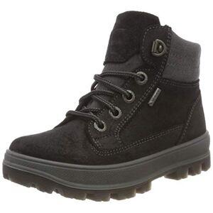 Superfit Boys' Tedd Gore-Tex' Snow Boot, Black Black Combi 02, 2 UK