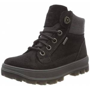 Superfit Boys' Tedd Gore-Tex' Snow Boot, Black Black Combi 02, 12.5 UK Child
