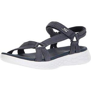 Skechers Skechers On The Go 600 15316-nvy, Women's Athletic Sandals, Blue (Navy), 4 UK (37 EU)