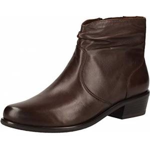 CAPRICE Women's 9-9-25303-25 342 Ankle Boot, Dk Brown Soft, 2.5 UK
