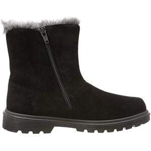 Superfit Girls' Spirit Snow Boots, Black (Schwarz 00 00), 7.5 UK