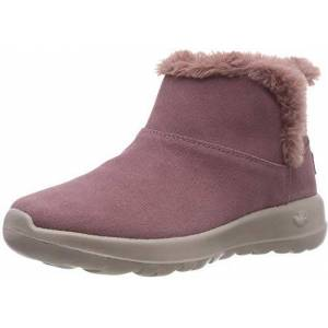 Skechers Women's's On-The-go-Bundle Up Ankle Boots, 2 UK Pink
