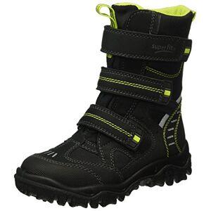 Superfit HUSKY2, Boys' Ankle Boots Ankle Boots, Black - Schwarz (Schwarz KOMBI 02), 2.5 UK (35 EU)