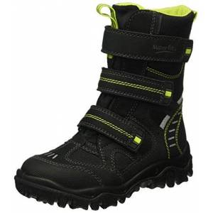Superfit HUSKY2, Boys' Ankle Boots Ankle Boots, Black - Schwarz (Schwarz KOMBI 02), 5 UK (38 EU)