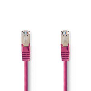 Nedis CCGP85121PK05 Cat 5e SF/UTP Network Cable RJ45 Male - RJ45 Male 0.5 m Pink