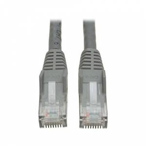 Tripp Lite N201-007-GY Cat6 Gigabit Snag Less Moulded Patch Cable - Grey