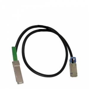 HP 670760-B22 FDR Quad Small Form Factor Pluggable InfiniBand Optical Cable (QSFP, SFF-8470, 5m)