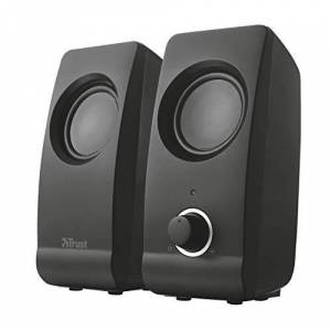 Trust Remo 2.0 PC Speakers for Computer and Laptop, 16 W, USB Powered, Black