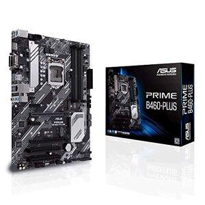 Asus Prime B460-Plus Intel B460 (LGA 1200) ATX motherboard with RGB headers, dual M.2, DDR4 2933MHz, HDMI, D-sub, DVI, USB 3.2 Gen 1 ports, Intel Optane memory ready, SATA 6 Gbps