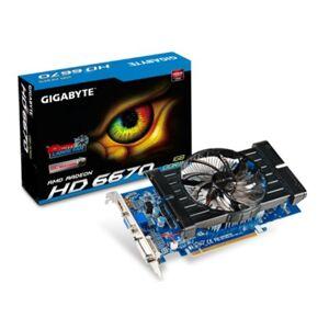 Gigabyte ATI 6670 HD 820MHZ Graphics Card (1GB, 128-bit, HDMI, DVI-D, VGA, PCI Express 2.1)