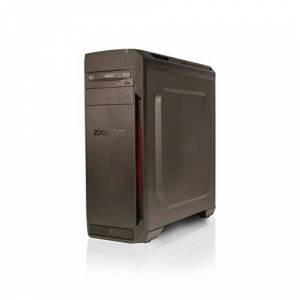 Zoostorm Voyager Desktop PC - (Black) (AMD ryzen 5 Processor, 8 GB RAM, 1 TB HDD, NVIDIA GeForce GTX 1050 2 GB Graphics, Windows 10 Home)