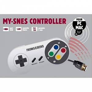 Nintendo Freeks and Greeks Compatible USB Controller Super Nintendo to Play on your Computer and MAC (Electronic Games/Nintendo 3DS)