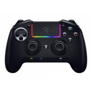 Razer Raiju Ultimate (2019) - Wireless and Wired Gaming Controller for PS4 + PC (Wired and Wireless Bluetooth Controller, Mecha-Tactile Action Buttons, Interchangeable) Black