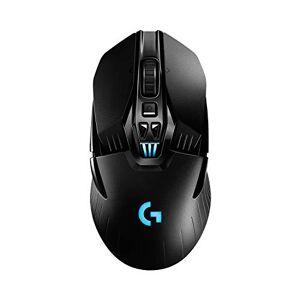 Logitech G903 LIGHTSPEED Wireless Gaming Mouse, HERO 25K Sensor, 25,600 DPI, RGB, Lightweight, Programmable Buttons, 140h Battery Life, POWERPLAY-compatible, Ambidextrous, PC/Mac - Black