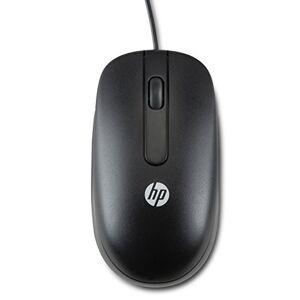 HP QY778A6 Laser USB 2-Button Mouse, 100 pieces, black