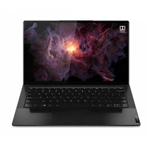 Lenovo Yoga Slim 9i 14 Inch 2-in-1 Laptop (Intel Core i7, 16GB RAM, 1TB SSD, UHD IPS Display, Dolby Atmos Speaker System) - Shadow Black with Black Leather Lid