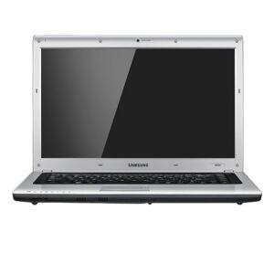 Samsung R520 15.6 Inch Laptop PC (C2D T6400, 2.0GHz, 3GB RAM, 320GB HDD, DVDRW, HD, Vista Home Premium) -Black/Silver