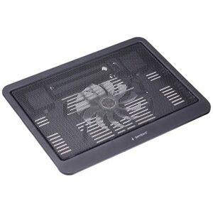"Gembird NBS-1F15-03 15"" 1000 RPM Black Cooling Pad 15"" 1 Piece (s), 12.5cm, 1000 RPM, 20cfm, 0.55m"
