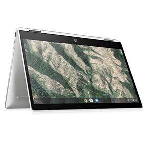 HP Chromebook X360 14b-ca0004na 14 Inch Full HD Touch-screen Display, (Ceramic White) (Intel Pentium Silver N5000, 4 GB DDR4, 64 GB eMMC, 100GB Google One, 1 Year Subscription Included)