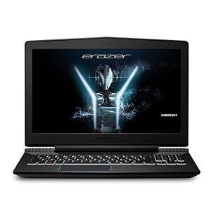 Medion Erazer X6603 15.6-Inch Full HD Display Gaming Laptop - (Black) (Intel Core i5-7300HQ, 8 GB RAM, 128GB SSD, 1 TB HDD, GeForce GTX 1050 Ti 4GB Graphics, Windows 10 Home)