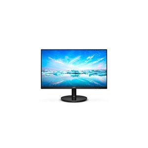 "Philips V-line 221V8A - LED monitor - 22"" (21.5"" viewable) - 1920 x 1080 Full HD (1080p) - VA - 200 cd/m - 4000:1-4 ms - HDMI, VGA - speakers - textured black"