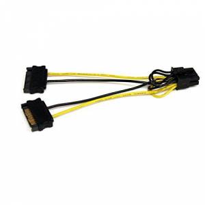 StarTech.com SATPCIEX8ADP 6in SATA Power to 8 Pin PCI Express Video Card Power Cable Adapter