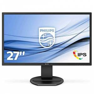 "Philips 271B8QJEB/00 27"" LCD Monitor IPS/LCD 68.58 centimeters, Black"