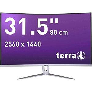 "Wortmann AG TERRA LCD/LED 3280W LED display 80 cm (31.5"") Wide Quad HD Curved Silver,White"