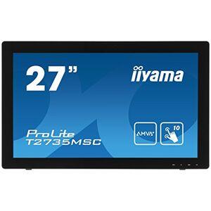 """IIYAMA T2735MSC-B2 27"""" ProLite HD Multi Touch AMVA+ LED Monitor - Black"""