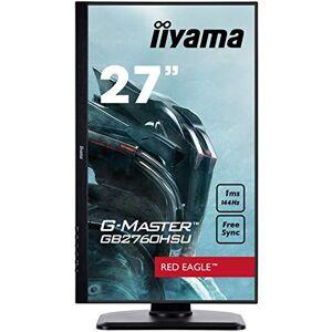 IIYAMA GB2760HSU-B1 27 Inch G-Master Height Adjustable 144 MHz HD LED Monitor with FreeSync - Black