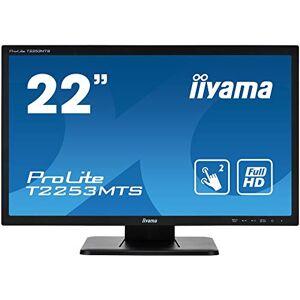 "IIYAMA ProLite T2253MTS-B1 22"", Black, Full HD, Optical 2pt touch, HDMI, USB Hub"