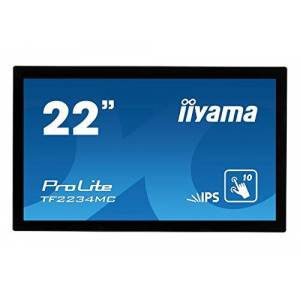 """IIYAMA TF2234MC-B6AGB 22"""" ProLite Multi Touch IPS LED Monitor with Anti-Glare Coating - Black"""