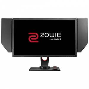 BenQ ZOWIE XL2740 240 Hz e-Sports Gaming Monitor with 1 ms, Height Adjustable Stand, S Switch, Black eQualizer, G-Sync Compatible, 27 Inch, Shield, Dark Grey