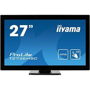 "IIYAMA T2736MSC-B1 27-Inch""ProLite"" Multi Touch Screen LED Monitor - Black"