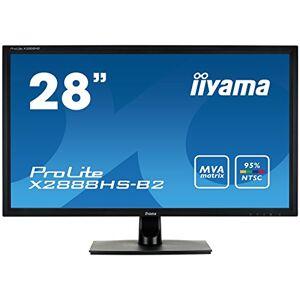 "IIYAMA X2888HS-B2 28"" ProLite MVA HD High Colour LED Monitor - Black"